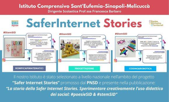 "IL PROGETTO""Safer Internet Stories"""